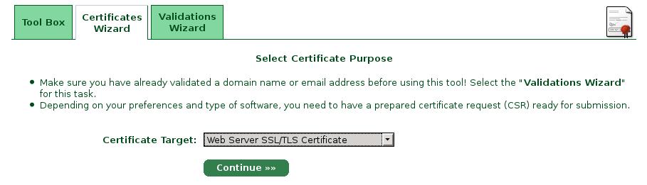 certificate-wizard